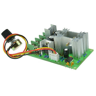 20A DC10-60V PWM HHO RC Motor Speed Regulator Controller Switch New