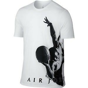 white // black $45.00 801062-100 Jordan Men Jordan Flying Dreams Tee