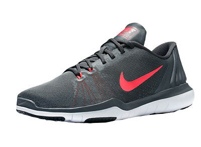 Nike Womens Flex Supreme 5 Shoes 852467-003 Grey Sz 6 W