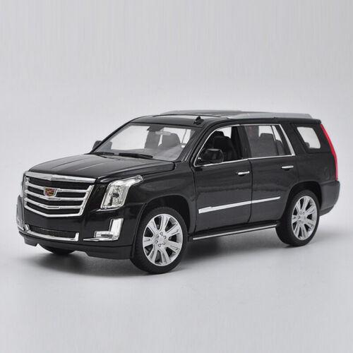 Cadillac Escalade 2017 SUV 1:24 Die Cast Modellauto Spielzeug Sammlung Schwarz