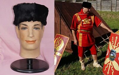 Roman Legionary Officer Soldier Pannonian Cap Pillbox Hat