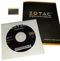 Original Zotac Geforce Gtx680 Grafikkarten Treiber Dvd Boost + Handbuch +sticker