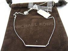 MICHAEL KORS Brillance Necklace Collier Zirkonia Gold Artikel  MKJ3774710