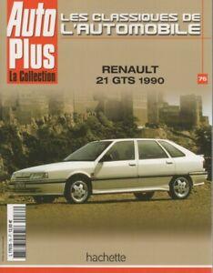 LES-CLASSIQUES-DE-L-039-AUTOMOBILE-76-RENAULT-21-GTS-1990-R21-2L-TURBO-CLIO-WILLIAMS