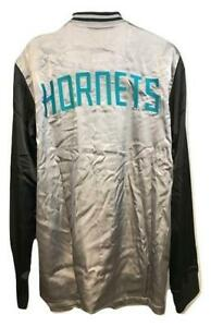New Charlotte Hornets Mens L-XL-2XL-3XL-4XL+2 On Court 2nd Half Jacket