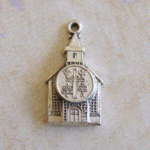Hayward-Presbyterian-Church-Sterling-Silver-Bracelet-Charm-Christian-Religious