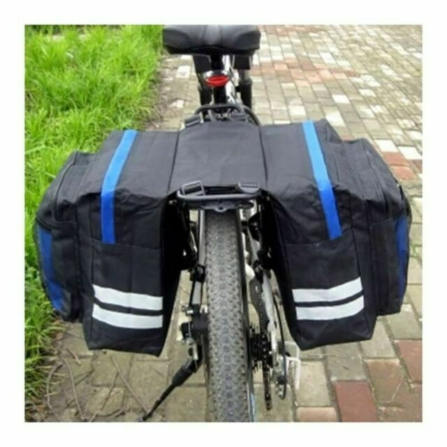 Waterproof Multi Function Bicycle Bag Bike Rear Seat Carrier Basket Rack Pannier