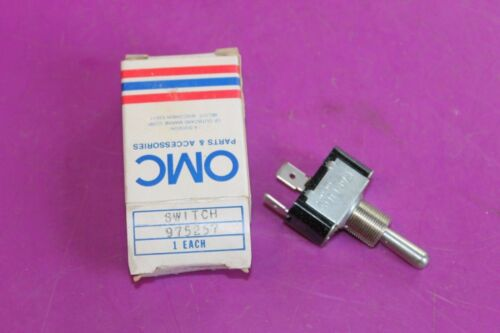 Acquired from a closed dealership. OMC Evinrude Johnson Switch Part 975257