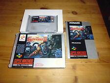 Super CastleVania IV 4 OVP/CIB boxed NOE Super Nintendo SNES