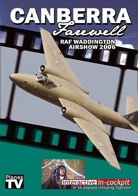 RAF Waddington Airshow 2006 - Canberra Farewell DVD Aircraft Aviation Planes