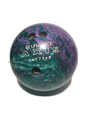 Brunswick Axis Black Ladies Size 8.5