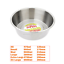 Stainless-Steel-Dish-For-Dogs-Cats-Feeding-Bowls-Small-Med-Large-XL-or-Non-Slip thumbnail 4