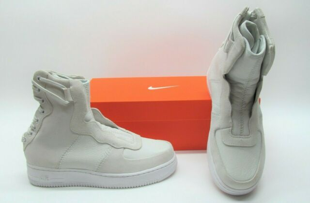 Nike AF1 Rebel XX Air Force One High Top Off White Sneakers Shoes Womens 7.5