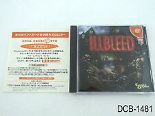 Illbleed Dreamcast Japanese Import JP Japan Sega DC US Seller B/Good
