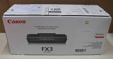 Canon FX3 ORIGINALE NERO Monocromatico CARTUCCIA TONER LASER, 1557a002ba