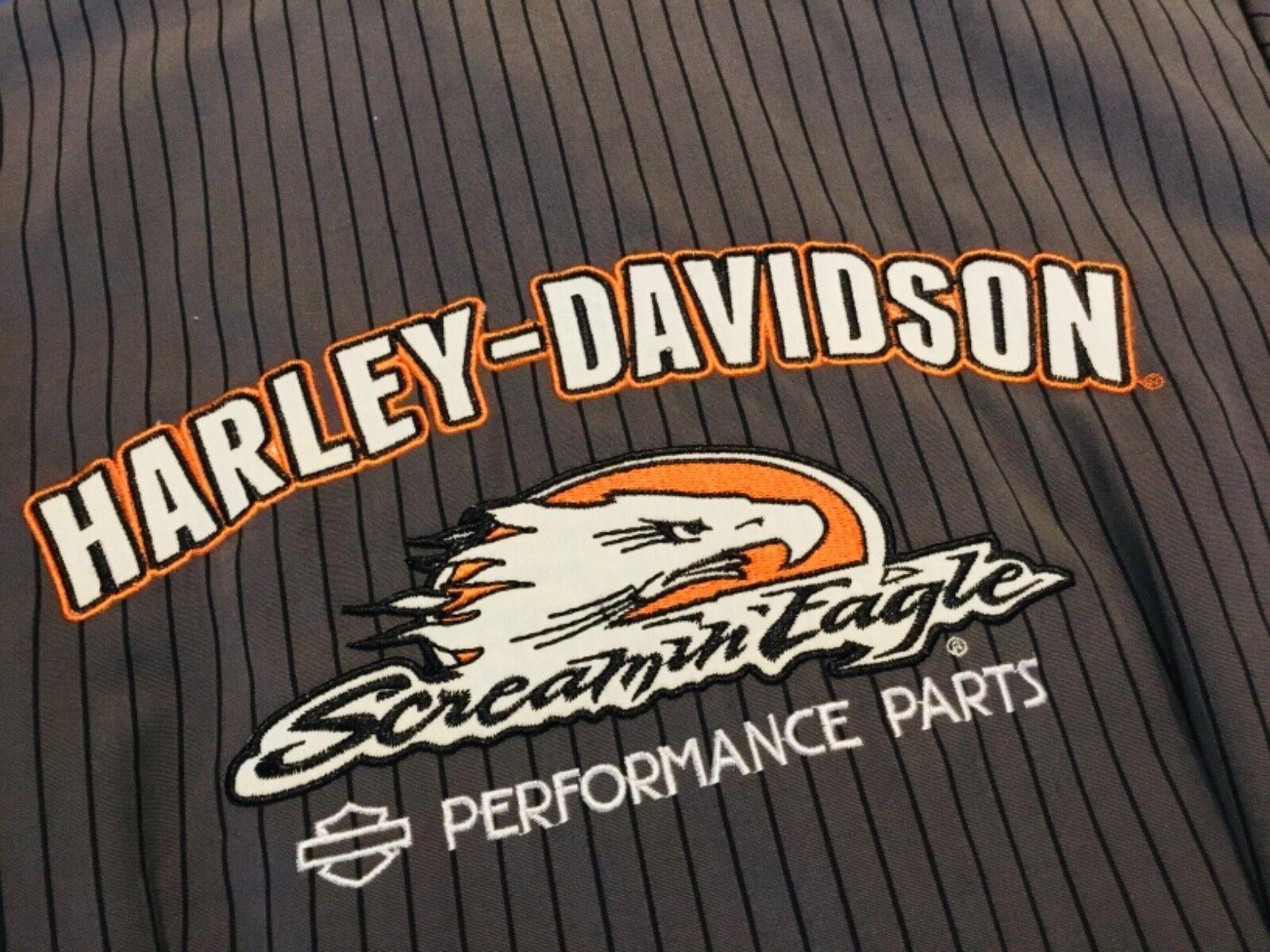 GENUINE HARLEY DAVIDSON Screamin Eagle Parts WORK SHOP SHIRT Medium NEW Style 9