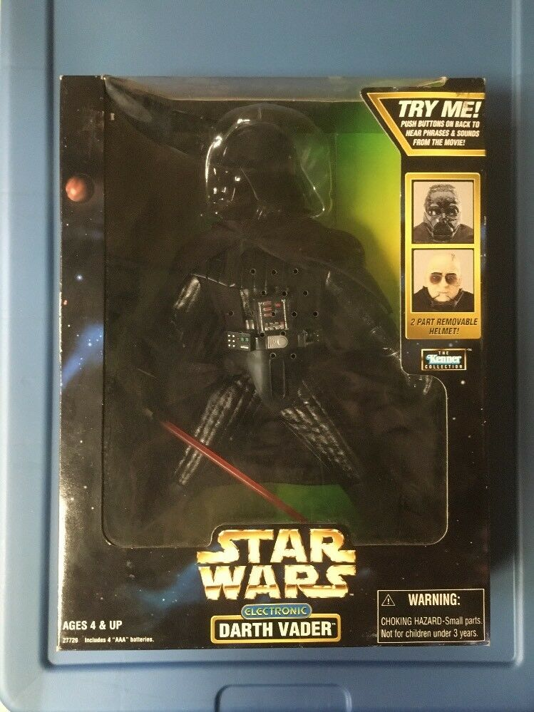Star Wars 12  Electronic Talking Darth Vader Action Action Action Figure by Kenner SEALED 1998 16ae0b