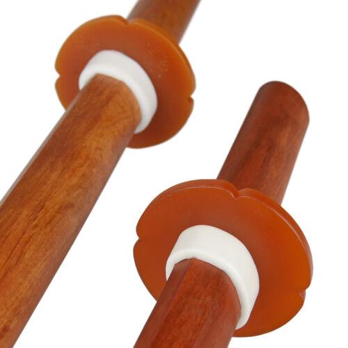 Bokken Shoto Daisho rote Eiche Holzschwert Katana Wakizashi für Kendo Aikido
