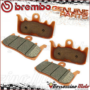 4 Front Brake Pads Brembo Sintered 07bb3884 Bmw R 1200 Gs