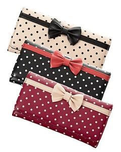 Banned-Dancing-Days-Carla-Polkadot-Vintage-Style-Bow-Purse-Wallet-3-Colours