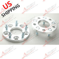 2pc 15mm Wheel Adapter Spacers For Mitsubishi Asx Eclipse Evo Aluminum Us