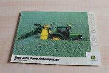 128877) John Deere Anbauspritze Prospekt 08/2001