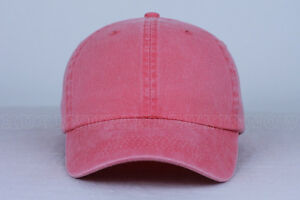 4fb67f1942b CORAL blank DAD CAP HAT (slide buckle) fashion custom wholesale bulk ...