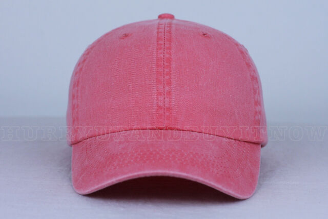 2da05d40345 CORAL blank DAD CAP HAT (slide buckle) fashion custom wholesale bulk style  new