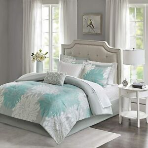 Madison-Park-Essentials-Maible-Comforter-Reversible-Solid-Flower-Floral-Printed