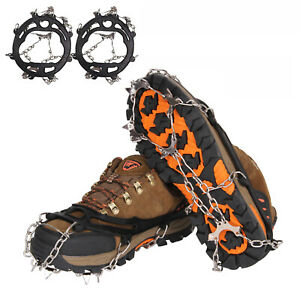 50Pcs//set Ice Snow Climbing Anti Slip Shoe Spike Crampon Grips Cleats Stud Cover