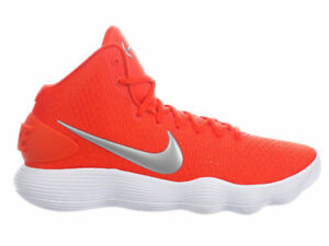 5c103dfb9312 Nike Hyperdunk 2017 TB Men s Basketball Shoe Team Orange silver ...