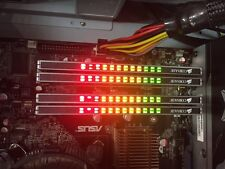 4 x Corsair XMS Pro 1GB DDR2 Gaming Memory CM2X1024-5400C4Pro - LED 4GB Kit