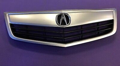 OEM Emblem With OEM Finished Molding Brand New Acura TSX Front Grille