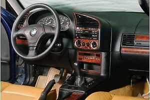 FOR BMW E36 3 SERIES INTERIOR Dash Trim Kit 3M DASH TRIM ...