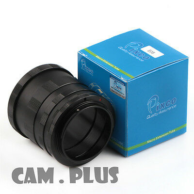 Macro Extension Tube For Canon 5D Mark III 750D 7DII 80D 60D 5DS 1300D 100D 700D