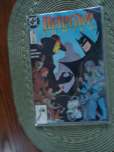 BATMAN-DETECTIVE-COMICS-609-613-1990-DC-LOT-OF-5-COMIC-BOOKS