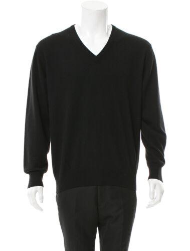Jumper Silk Gucci L Cashmere Size V Knit Large Brown neck Dark Sweater qw68Rg
