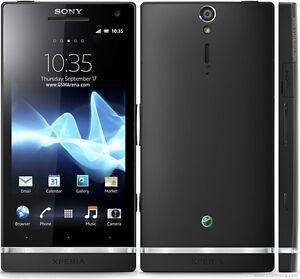 brand original sony xperia s lt26i 32gb black unlocked android rh ebay com Sony Remote Sony Referrer Mobile User Guide