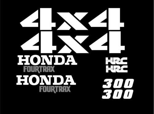 Set of 1995 Honda Fourtrax Decals Gas Tank Fenders 300 ATC HRC 8