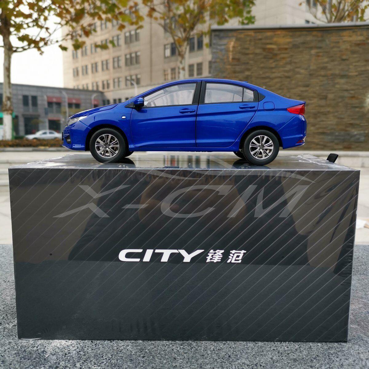 Diecast Car Model New Honda City 2018 1 18 (bluee) + GIFT