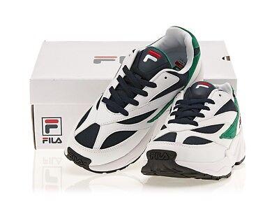 a6590377 Fila Venom 94 Athletic Shoes Unisex Sneakers White Navy Green Size 10 | eBay