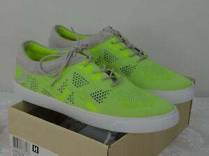 2aa8e1132e2b Image is loading Ladies-Clark-Glove-Glitter-Yellow-Neon-Sneakers-Tennis-