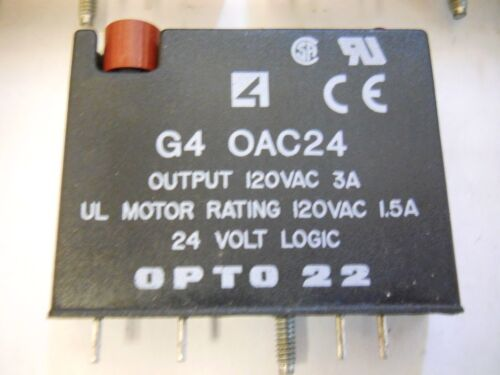 SET OF 5 USED WORKING CONDITION GUARANTEED OPTO 22 OAC24A I//O MODULES