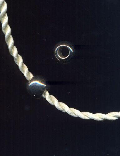Ciondolo in resina argentata lucida per catene snake 4mm