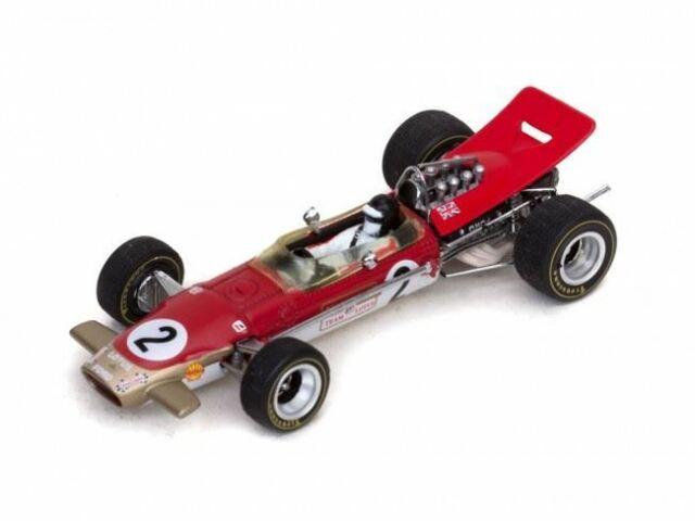 Quartzo 1:43 Lotus 49B Model #2 Jackie Oliver Belgian GP 1968 - 27805