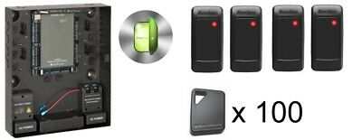 Rosslare Access Control Four Door Kit with 100 Key Fobs | eBay