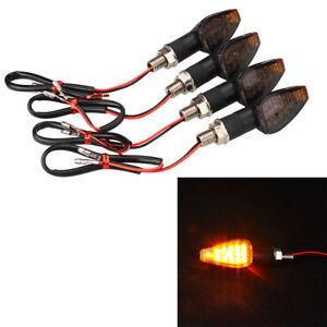 4Pcs-Amber-Motorcycle-Motorbike-Turn-Signal-14-LED-Indicator-Blinker-Light