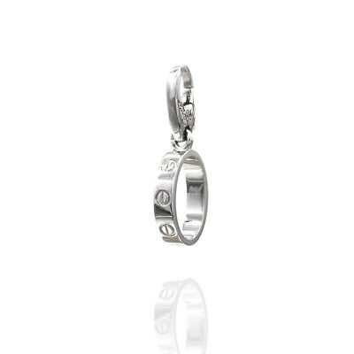 2baacbffc66e3 Cartier Baby Love Charm Pendant Featured in 18K White Gold | JH | eBay