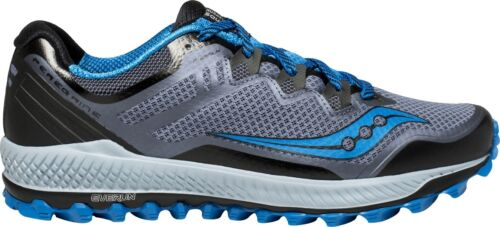 Black Saucony Peregrine 8 Mens Trail Running Shoes