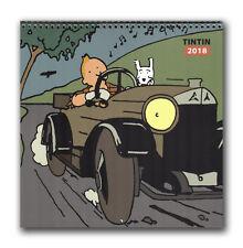 Tintin Tim und Struppi Kalender 2018 Wandkalender International Version Calendar